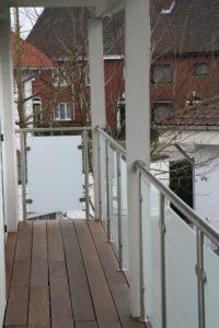 terrasafsluiting in inox